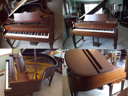 Piano refinishing project